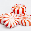 Red Striped Peppermints — Stock Photo #9718438
