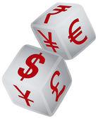 Symbol of financial exchange — Stock Vector