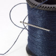 Blue Thread — Stock Photo