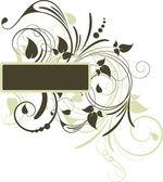 Floral background for design. — Stock Vector