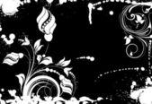 Floral abstrato — Vetorial Stock