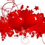 St. Valentine's Day Theme — Stock Vector