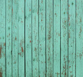 Green wooden fence background — Foto de Stock