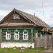 Small wooden country house - Foto Stock