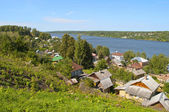 View on the Volga River in Ples, Russia — Stock Photo