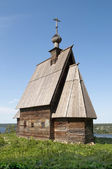 Wooden church in Ples, Russia — Stock Photo
