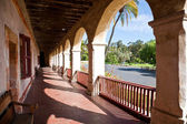 Old Mission Santa Barbara — Stock Photo