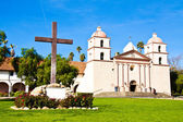 Old Mission Santa Barbara — Stock Photo