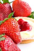 Fresh red strawberries isolated — Stock Photo