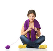 編み物 — ストック写真