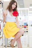 Beauty in shop — Stock Photo
