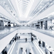 Panoramic view of a modern mall — Stock Photo #10569559