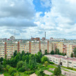 Panoramic view of a urban architecture in Russia — Stock Photo