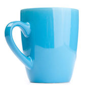 Blue cup — Stock Photo