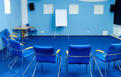 Interior of conference room — Stock Photo