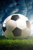 Football ball — Stockfoto