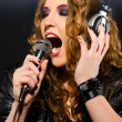 Singing Rock-song — Stockfoto