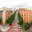 Barcelona street view - Stock Photo