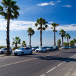 Stock Photo: Beach road