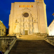 Stock Photo: GironCathedral