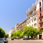 Madrid street view — Stock Photo #8542172