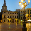 Stock Photo: Market square and CasPinyol