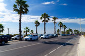 Beach road — Stock Photo