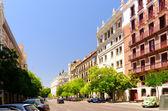 Madrid street view — Stock Photo