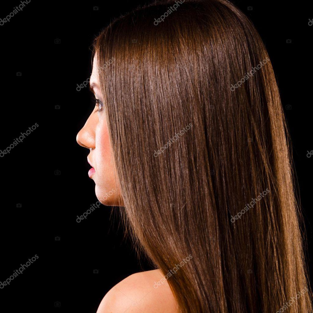 Девушки с русыми волосами в профиль фото