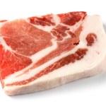 ungekocht Schweinekoteletts — Stockfoto #8545533