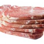 ungekocht Schweinekoteletts — Stockfoto #8545539