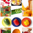 Stock Photo: Food set