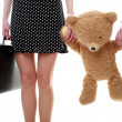 Teddy-bear — Stock Photo