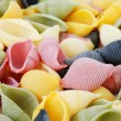 Colorfull pasta — Stock Photo