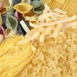 Uncooked pasta — Stock Photo