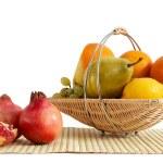 Basket with fruit — Stock Photo #8568054