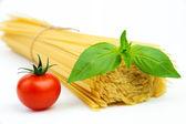 Ingrédients pour spaghetti — Photo