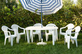 Table et chaises — Photo