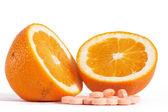 Las vitaminas c — Foto de Stock