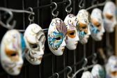 Hanging masks — Stock Photo