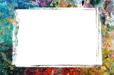 Border of palette