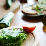 Making of salad — Stock Photo #8570507