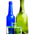 Three bottles — Stock Photo