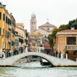 Bridge in Venice - Stock Photo