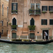 Gondolier in Venice - Stock Photo
