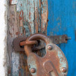 Old lock - Foto Stock
