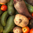 Different vegetables — Stockfoto