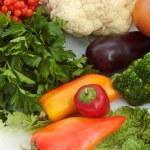 různé potraviny — Stock fotografie
