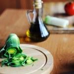Fresh tasty salad — Stock Photo #8575322