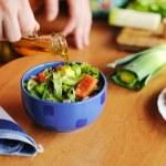 Fresh tasty salad — Stock Photo